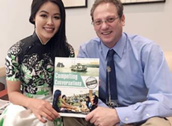 Eric Roth and Teresa Nguyen