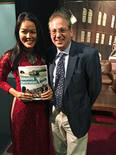 Eric Roth and Teresa Nguyen